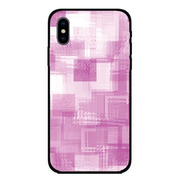 Калъфче за Nokia 226 розови квадрати