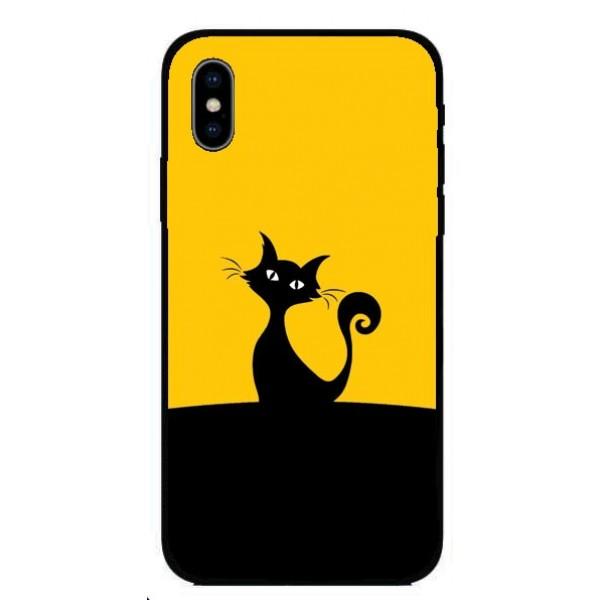 Кейс за Huawei 268 черно коте