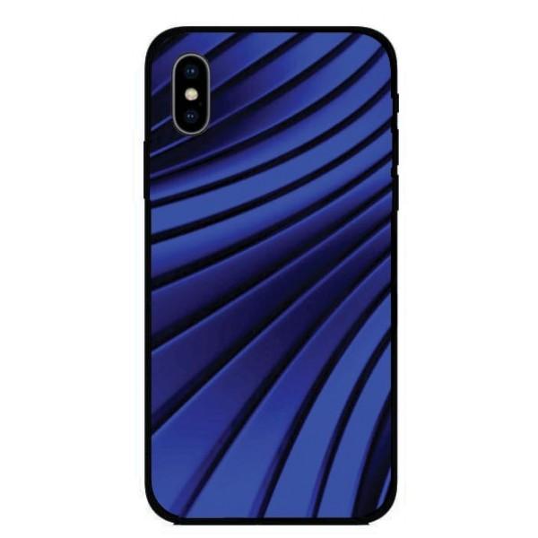 Кейс за Motorola 254 сини ленти