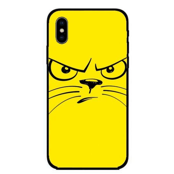 Кейс за Motorola 293 ядосана котка