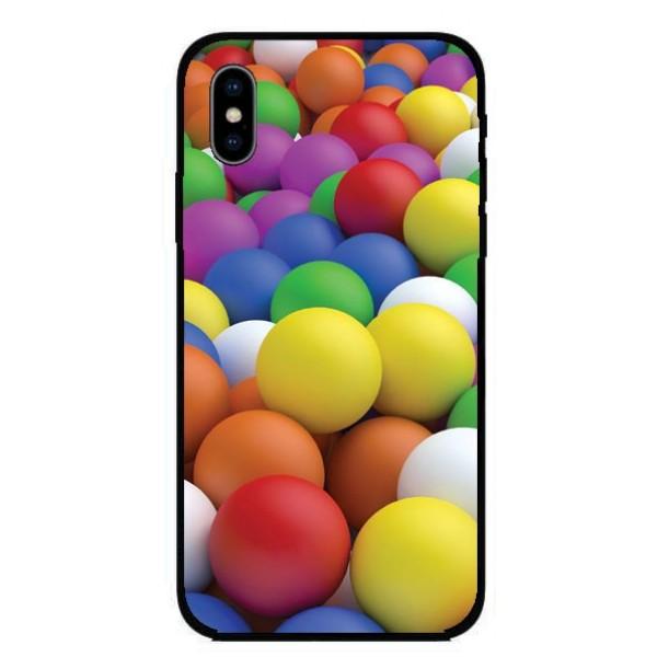 Кейс за Nokia 307 шарени топки