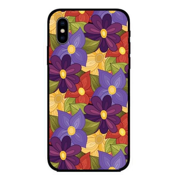 Кейс за Nokia 310 шарени цветя