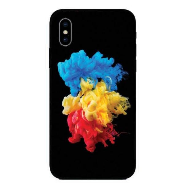 Кейс за Nokia 320 облак от цветове