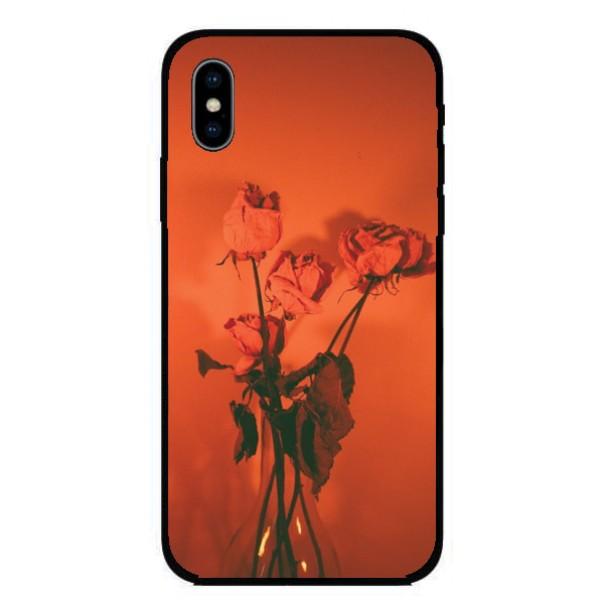Кейс за Nokia 398 оранжеви рози