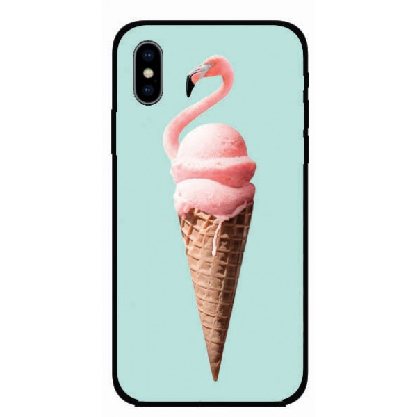Калъфче за Huawei 101+41 Сладоледено фламинго