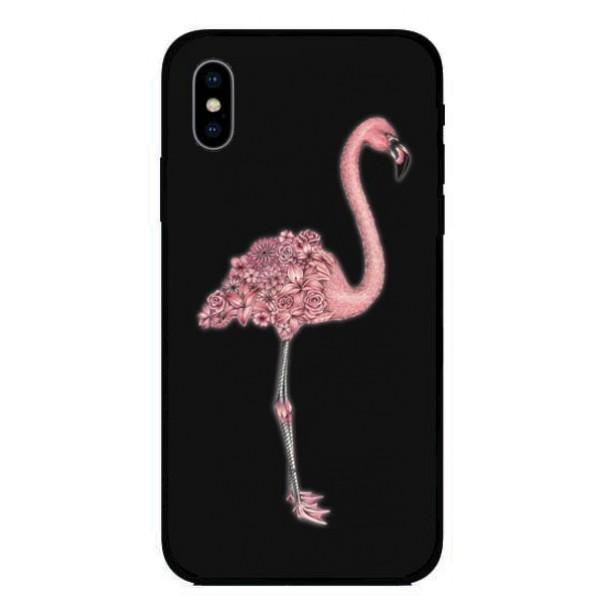 Кейс за Huawei 468 фламинго
