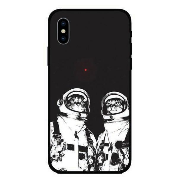 Калъфче за Huawei 19 Кoтки астронавти