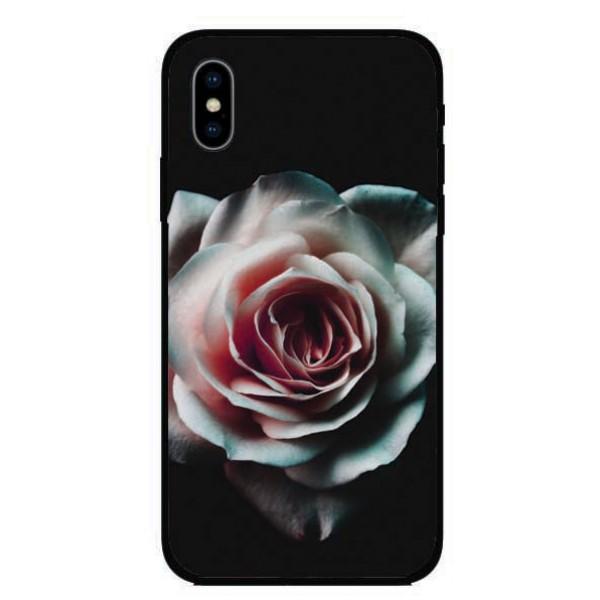 Калъфче за Huawei 23 Бяла роза