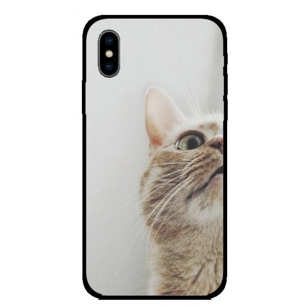 Калъфче за Huawei 42 Любопитно коте