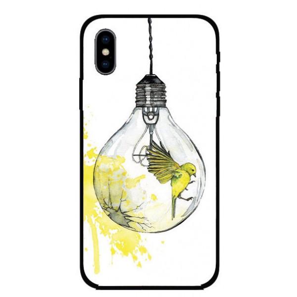 Калъфче за Huawei 61 Птичка в крушка