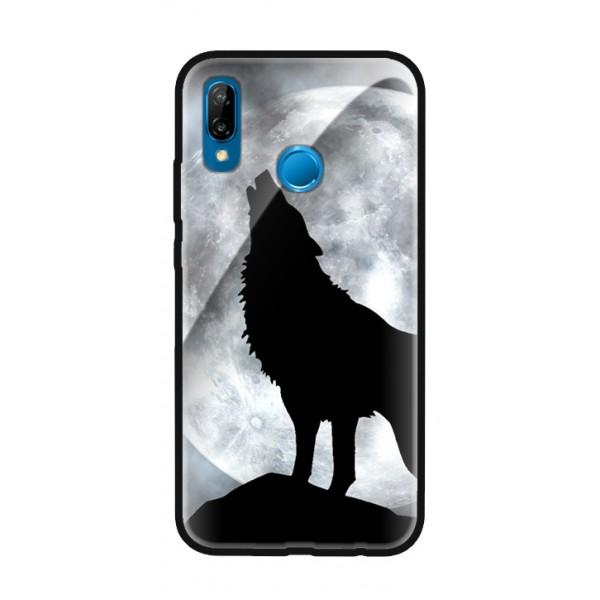 Стъклен кейс за Huawei черен вълк 405