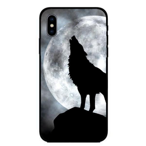 Кейс за Nokia 443 черен вълк