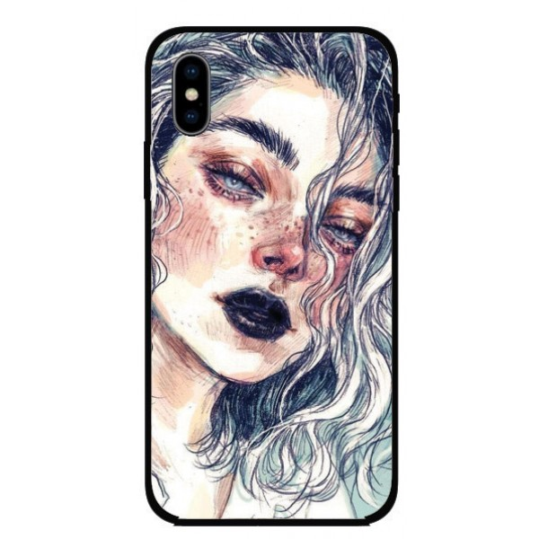 Калъфче за Nokia 56 момичето  с белите коси