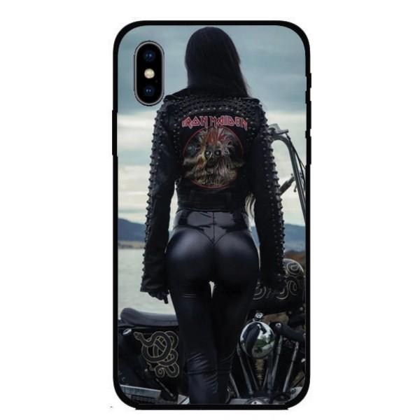 Калъфче за Nokia 88 MotoGirl Iron Maiden