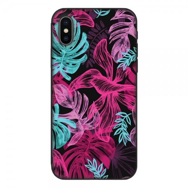 Кейс за Nokia 522 Neon Flowers