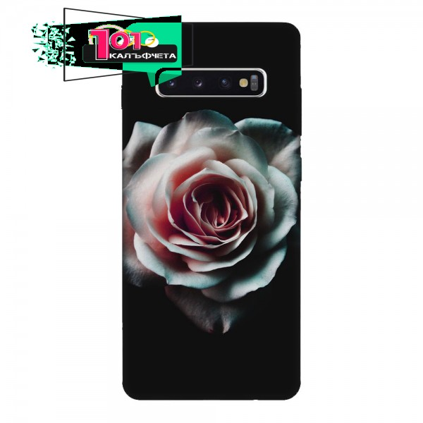 Калъфче за Samsung 23  Бяла роза