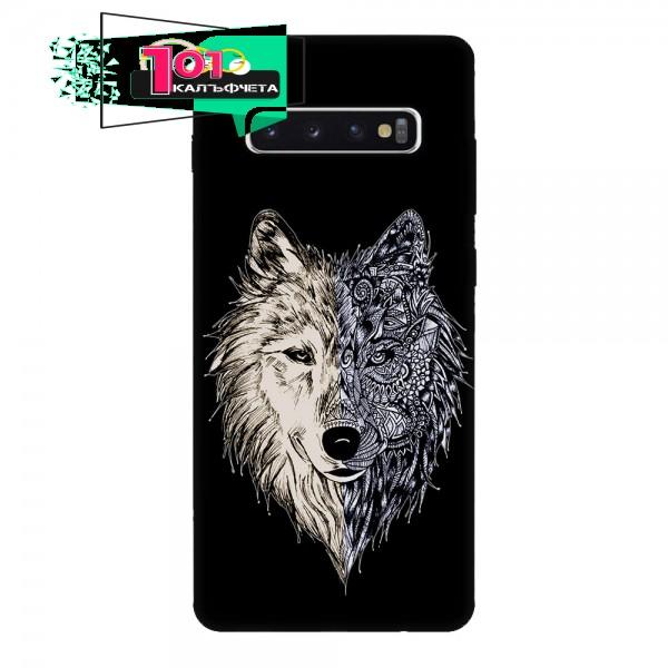 Калъфче за Samsung 59 вълк - графика