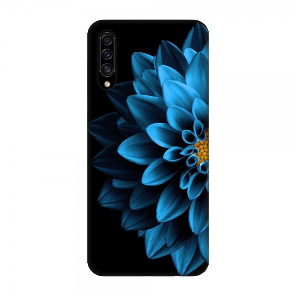 Калъфче за Samsung 101+85 Синьо цвете