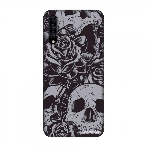 Калъфче за Samsung 101+92 черепи и рози