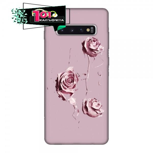 Калъфче за Samsung 101+53 Рози