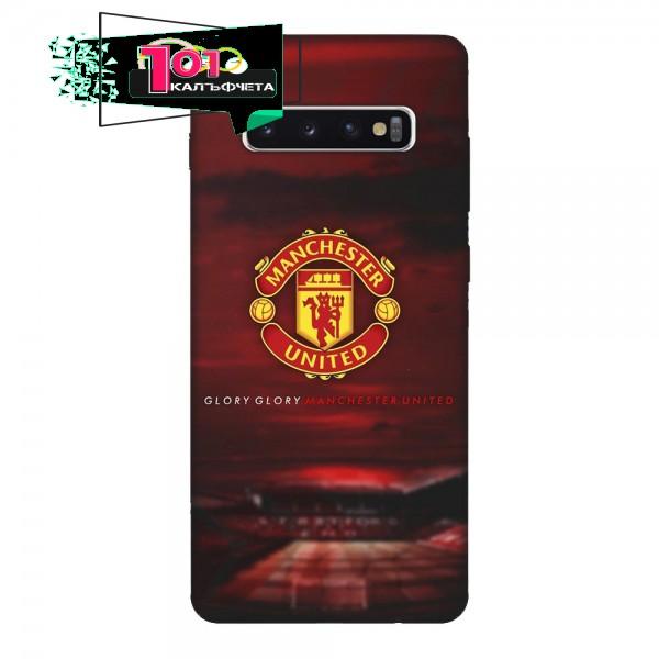 Калъфче за Samsung 101+68 Manchester United