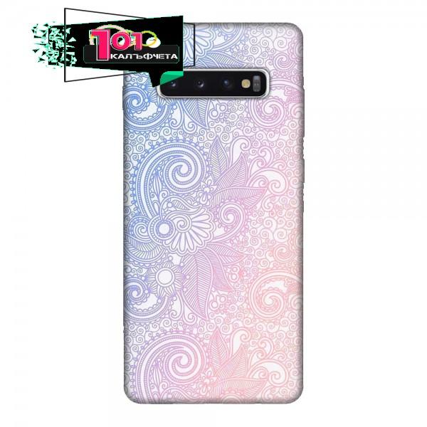 Калъфче за Samsung 225 синьо-розов