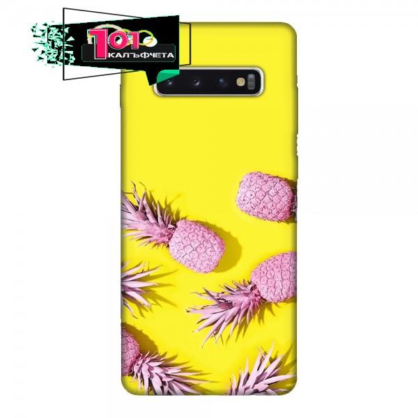Калъфче за Samsung 228 розови ананаси