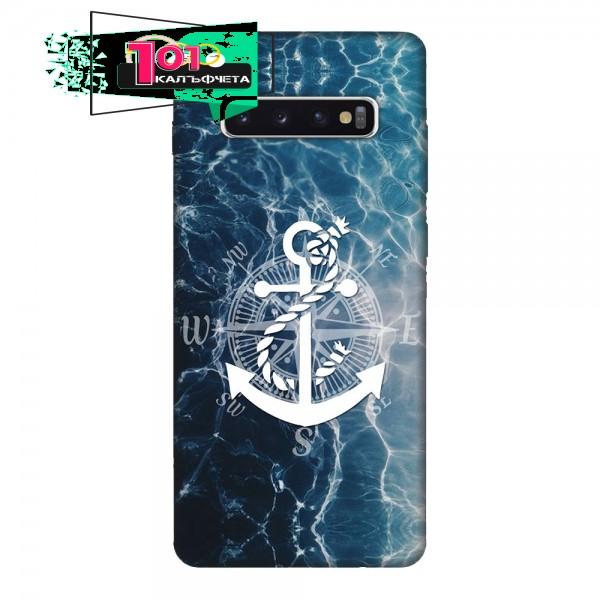 Кейс за Samsung 494 море и котва