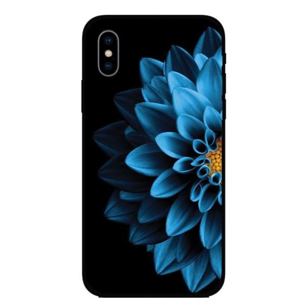 Калъфче за Motorola 101+85 синьо цвете