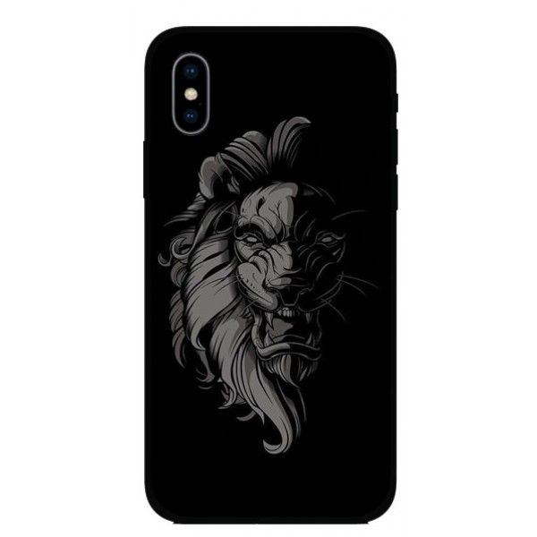 Калъфче за Motorola 101+97 Black N White Lion