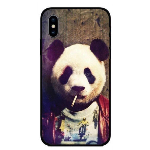 Калъфче за Motorola 80 хипи панда