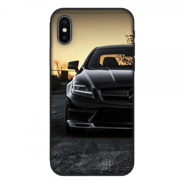 Кейс за iPhone 538 Black Merceders