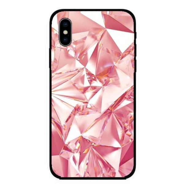 Кейс за iPhone 429 розов диамант