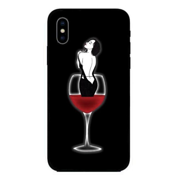 Кейс за iPhone 436 жена в чаша