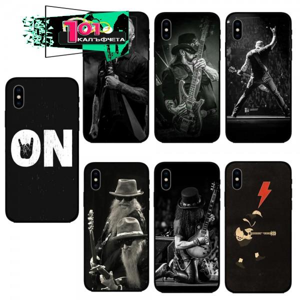 Кейсове за iPhone Rock N Roll