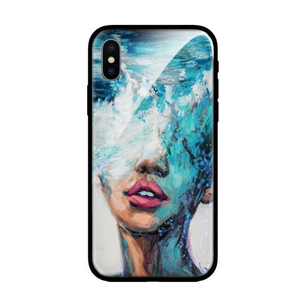 Стъклен кейс за iPhone морското момиче 57