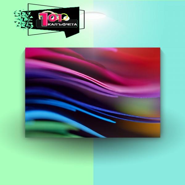 Картина-канава Цветни листа