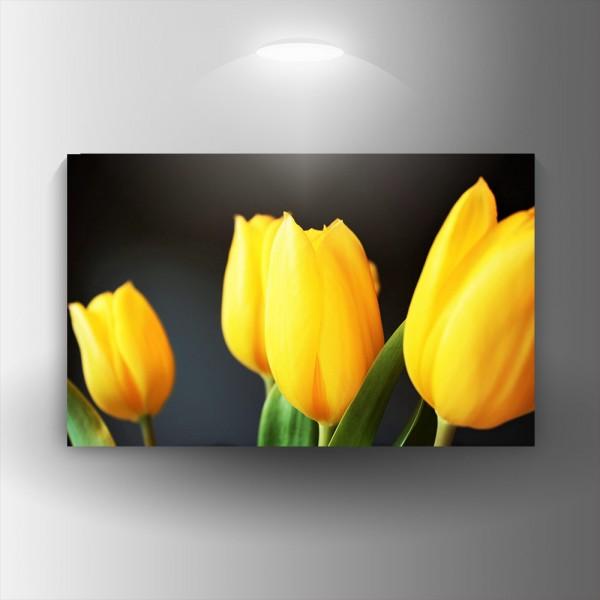 Картина-канава Жълти лалета