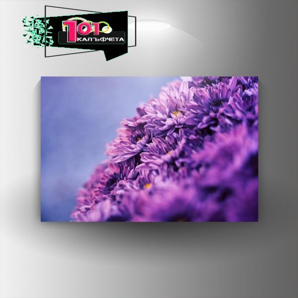 Картина-канава Лилалви Цветя