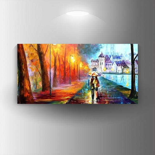 Картина-канава Любовен пейзаж