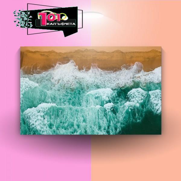 Картина-канава Море