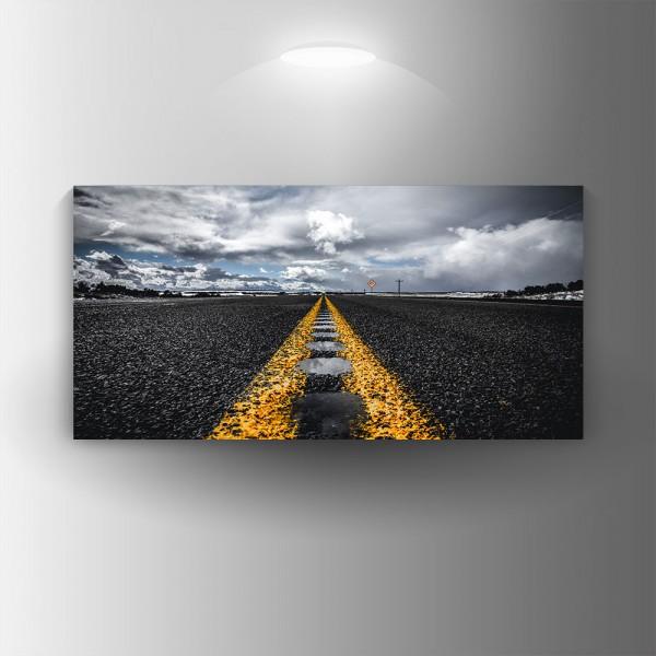 Картина-канава Път
