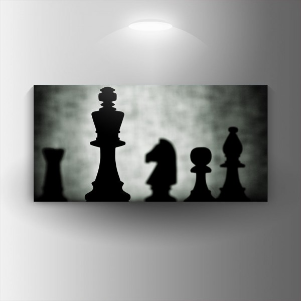 Картина-канава Шах