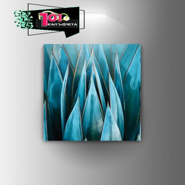 Картина-канава Синьо