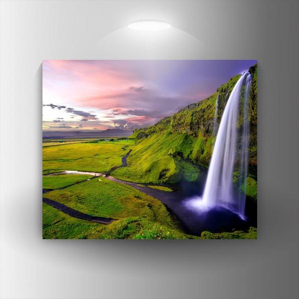 Картина-канава Водопад