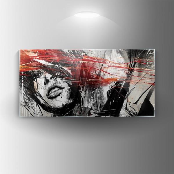 Картина на закалено стъкло Арт Жена
