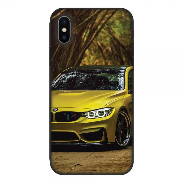 Кейс за Sony 536 Жълто BMW