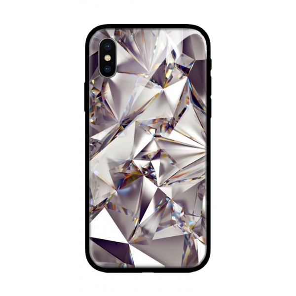 Стъклен кейс за Samsung J6 plus диамант 430
