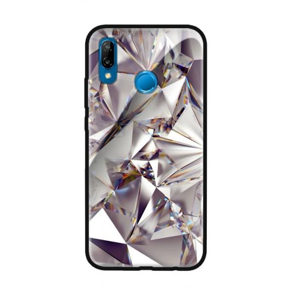Стъклен кейс за Huawei Mate 20 lite диамант 430