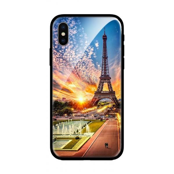 Стъклен кейс за Samsung A7 2018 paris 383
